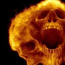 Skull Fire Skcl Skull Airbrush Skull Skull Painting