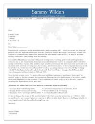 Sample Cover Letter Accounting Clerk Position   Cover Letter Templates