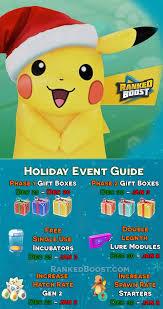 Pokemon Go Egg Chart December 2018 Pokemon Go Christmas Event Guide New Years Item Pack Gift