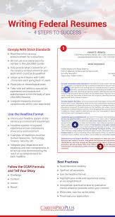 Like a private sector resume, it contains a summary or listing of relevant job experience and education. How To Write Your Federal Resume With Free Samples Careerpro