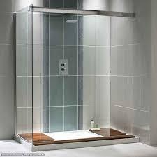bathroom shower glass tile ideas. Wonderful Ideas Nice Modern Shower Design With Sterling Doors And Glass Tile Walls Inside Bathroom Ideas E