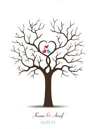 Aliexpresscom  Buy Canvas Wedding Fingerprint Tree Guest Book Fingerprint Baby Shower Tree