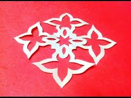 Paper Cutting Patterns Interesting How To Make KIRIGAMI Paper Cutting Patterns And Templates 48 YouTube