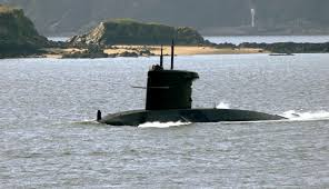 Image result for submarine on surface