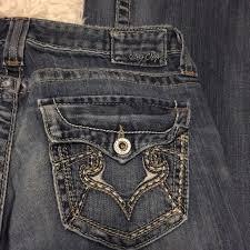 Big Star Sweet Low Boot Jeans 28r 28 X 31