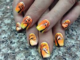 Fall/ Thanksgiving nails | Nails art and design | Pinterest ...