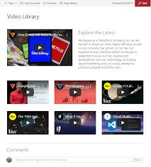 Sharepoint Website Examples Sharepoint Modern Experience Page Layout Samples