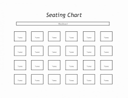 Cbp Seating Chart 69 Perspicuous Choir Seating Chart Template