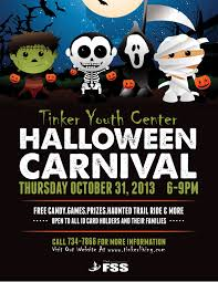 Halloween Costume Contest Flyer Yc Halloween Carnival Flyer