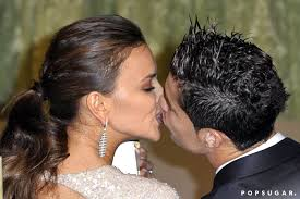 Cristiano Ronaldo and Irina Shayk got close at the November 2011 | Heat Up  Your Summer With the Best Celebrity Kisses