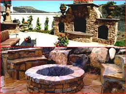 cool manly diy rounded fire pit idea surrounded by built in your house top chairs page