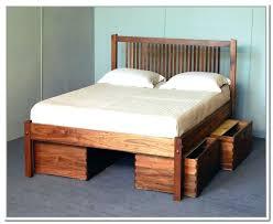 platform bed with shelves hospeeorg