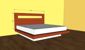 king floating platform bed this article is about platform bed frame plans in our free king platform bed plans we show you how to build the frame the