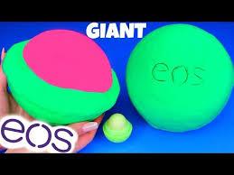 diy giant eos lip balm how to make