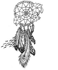 Black And White Dream Catcher Tattoo Cool Dream Catchers Drawing At GetDrawings Free For Personal Use