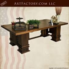 Image Furniture Design Custom Craftsman Office Desk Frank Lloyd Wright Inspired Design Fd1408 Scottsdale Art Factory Office Furniture Master Handcrafted From Fine Natural Materials
