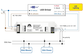 0 10v dimming wiring diagram standard wiring diagram \u2022 4 Lamp Ballast Wiring Diagram glaciallight introduces dali interface converter with pwm and dc rh led professional com 120v ballast wiring diagram bodine b50 emergency ballast wiring