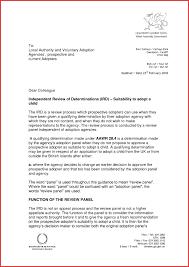 Luxury Adoption Recommendation Letter Sample Npfg Online