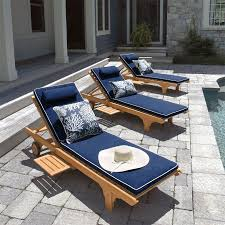navy and white piped outdoor cushions Google Search