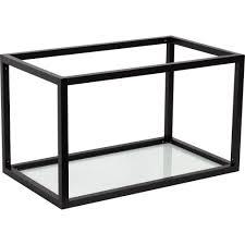 <b>Полка</b>-каркас для кухни <b>35х35х60 см</b>, алюминий/стекло в ...