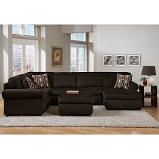 Upholstered Living Room Furniture Monarch Upholstery 3 Pc Sectional Value City Furniture Http