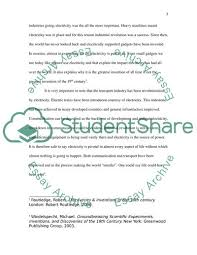 Essay About Invention What Was The Most Important Invention Of The 19th Century Essay