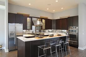 kitchen countertops quartz with dark cabinets. The Stellar Snow Silestone Recycled Quartz Countertops Stand Out Against Dark Espresso Cabinetry. Kitchen With Cabinets I