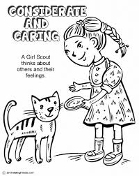 Girl Scout Law Coloring Book Coloring Activity Books And in Girl ...