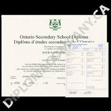 Fake Canada Diploma And Transcripts High School