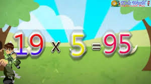 Multiplication Table of 19 - YouTube