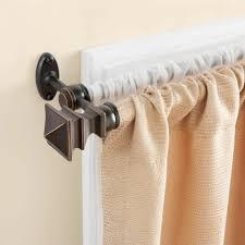 photo 2 of 9 dual curtain rod 2 double curtain rod ikea