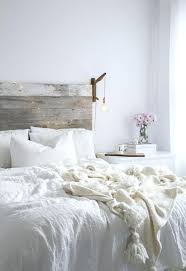 white wood headboard distressed bedroom furniture in modern bohemian style with wooden ideas 8 double bed white wood headboard