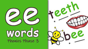 This page features j, k and l. Ee Words Blending Phonics Phase 3 Youtube