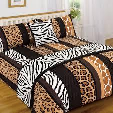 leopard animal print animal print bedding best argos beds
