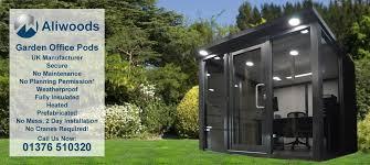 office garden pod. Aliwoods Garden Office Pods Manufactured In The UK Pod O