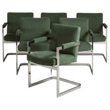 <b>Cantilever Dining Chairs</b> - 49 For Sale on 1stDibs
