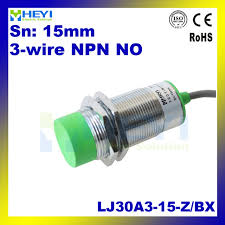 cylindrical proximity sensor switch npn open inductive dc 3wire type lj30a3 15 z bx inductive proximity sensor npn dc 3 wire no proximity cylindrical proximity sensor switch npn open inductive dc 3wire type