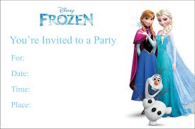 invitations party invites personalized party invites frozen printable birthday party invitation