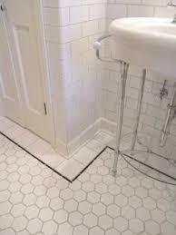 bathroom floor tile hexagon. Bathroom Tour From Bungalow Tile Floor Hexagon I
