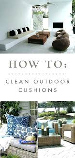 how to clean outdoor cushions cleaning outdoor furniture cushions how to clean outside furniture cushions best