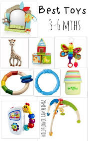 Best Baby Toys: 3-6 Months from Wildflower Ramblings baby toys (3 to 6 months | My Blog -