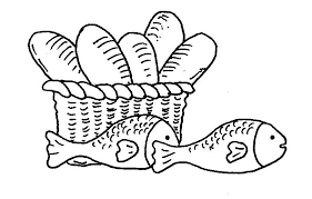 five loaves and two fishes clipart 28