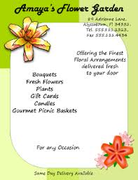 Microsoft Publisher Format Microsoft Publisher Tutorial How To Make A Florist Flyer