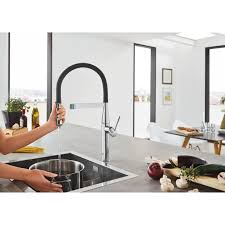 Grohe Concetto Kitchen Faucet Essence New Semi Pro Single Handle Pull Down Kitchen Faucet