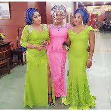 Aso Ebi Lace Styles For Wedding Guests