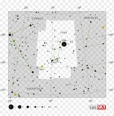 Star Chart Png Lyra The Lyre Canis Minor Star Chart Png Image With