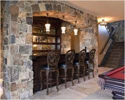 Basement Bar Design Ideas Fascinating 48 Inspirational Basement Bar Ideas EiEiHome