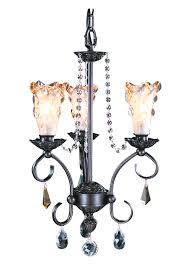 3 light mahogany bronze liebestraum mini chandelier