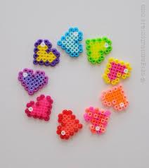 Perler Bead Heart Patterns
