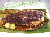 baked sambal fish